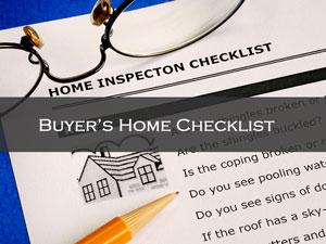 Buyers-Home-Checklist